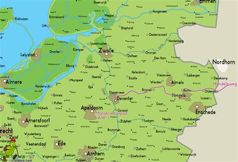 deventer netherlands map handelsweg