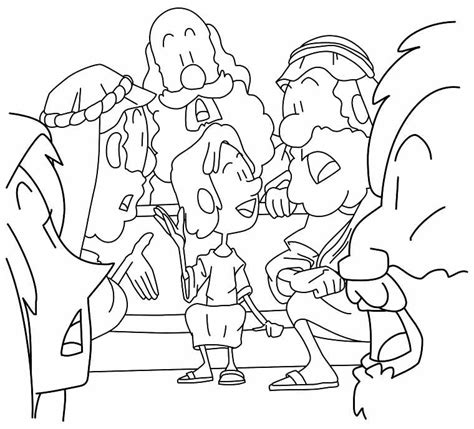 jesus with the children coloring page az coloring pages