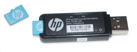 Memory Card Hp 8gb 741279 b21 hp dual 8gb microsd uk price
