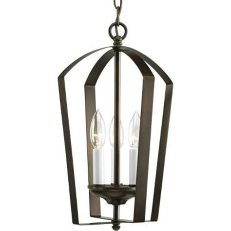 progress lighting gather collection 3 light antique bronze
