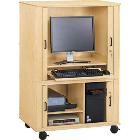 Euro Computer Cabinet, 3418JC, TV Cabinet, Apple School Supply