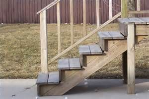 How to build deck stairs ehow