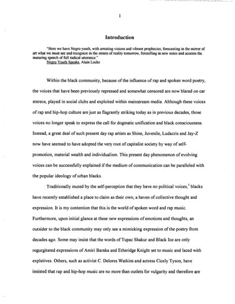 Rap Influence On Youth Essay by The Socio Political Influence Of Rap As Poetry In The