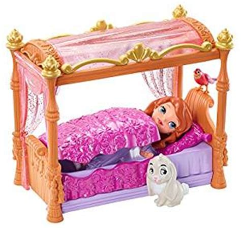 sophia the first bedroom amazon com disney sofia the first royal bed playset toys