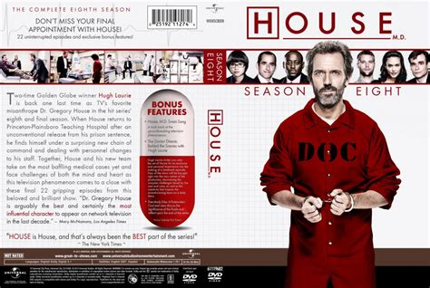 How Many Seasons Of House Md Is There House Md Season 8 Tv Dvd Custom Covers House Md Season