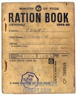 rationing book template the 23rd of june 1958 ad end of coal rationing announced