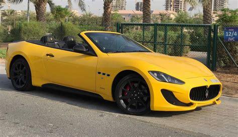 Rent Maserati by Maserati Grancabrio For Rent In Dubai Maserati