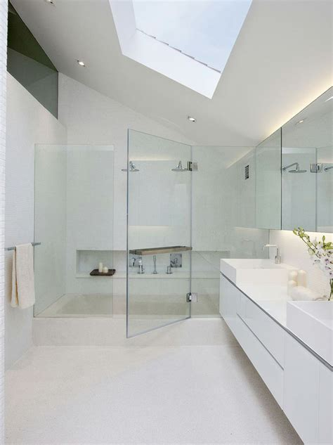 modern attic bathroom design