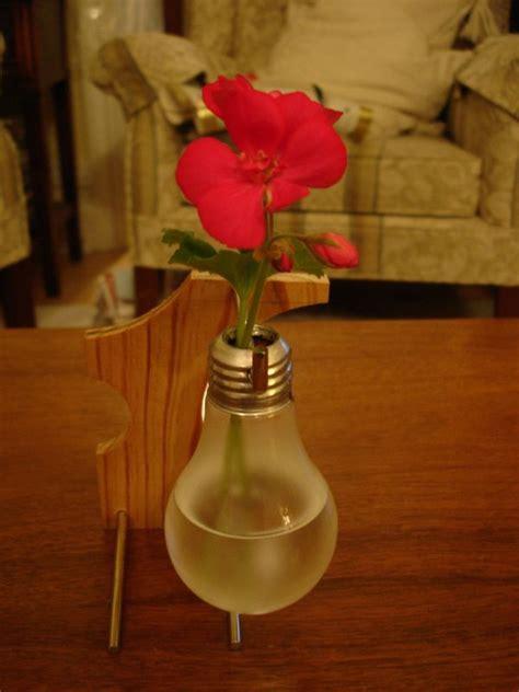 Light Bulb Flower Vase by 15 Innovative Ways To Repurpose A Light Bulb