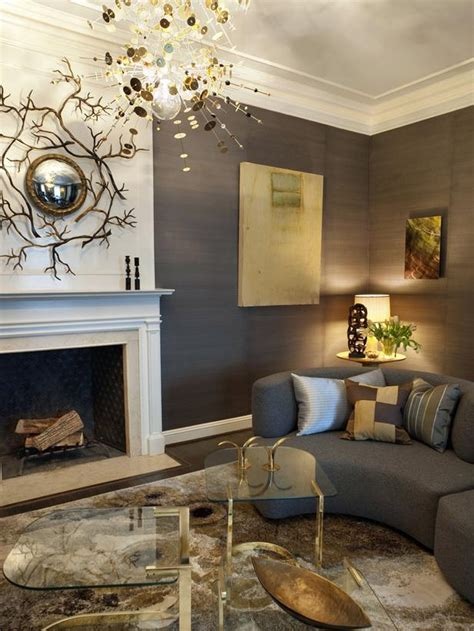 Grey Living Room With White Fireplace Living Room With Versatile Colors Hgtv
