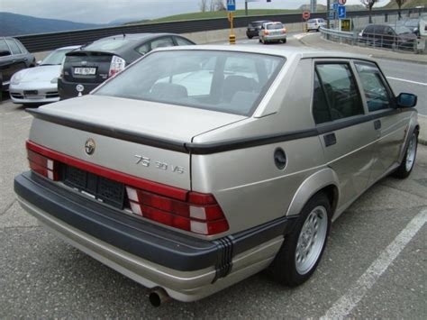 Alfa Romeo America by Alfa Romeo 75 V6 America Laptimes Specs Performance Data