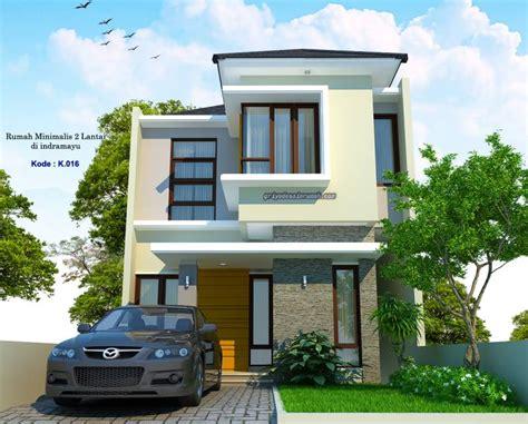 rumah  lantai lebar  meter minimalis jasa desain rumah