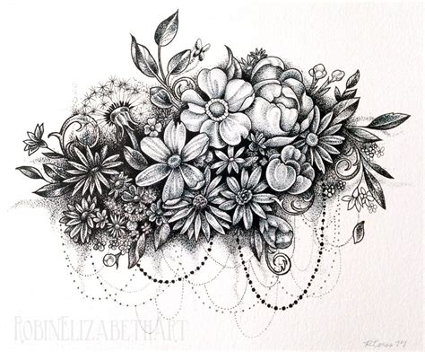 collage tattoo image result for small flower collage