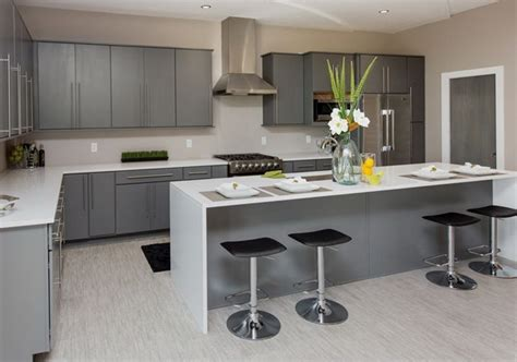 grey modern kitchen ideas kitchen and decor