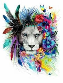what color are lions 25 melhores ideias sobre le 227 o aquarela no