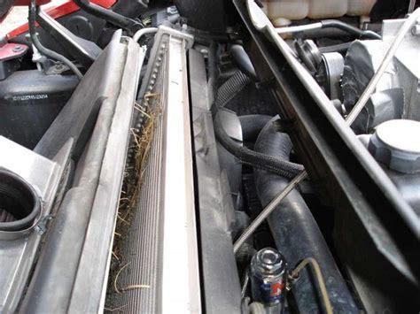corvette forum members   diy radiator cleaning