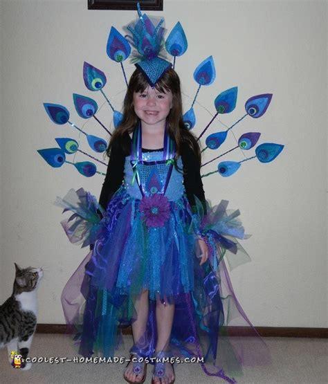 Handmade Peacock Costume - pretty peacock costume