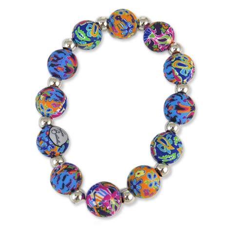 viva bracelets splash of blue chunky bracelet viva