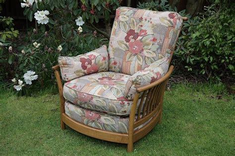 Ercol Armchair Cushions by Ercol Renaissance Ash Golden Armchair Seat Cushions
