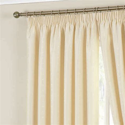 Pencil Pleat Curtains Curtina Hudson Woven Pencil Pleat Lined Curtains Ebay
