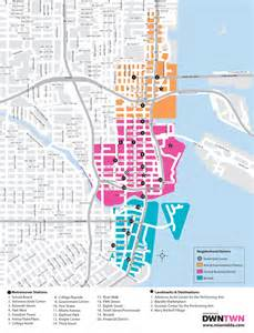 Map Of Downtown Miami by Miami Downtown Development Authority City Guide