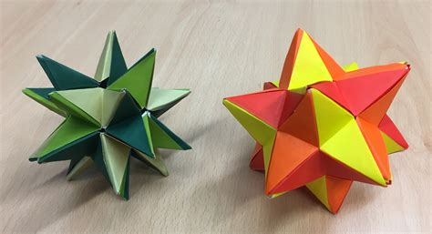 origami stellated dodecahedron origami dodecahedron gallery craft decoration ideas