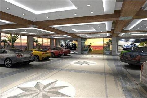 luxury garage designs interior modern spacious garage for car collector with