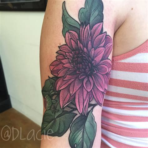 dahlia tattoos 45 beautiful dahlia tattoos