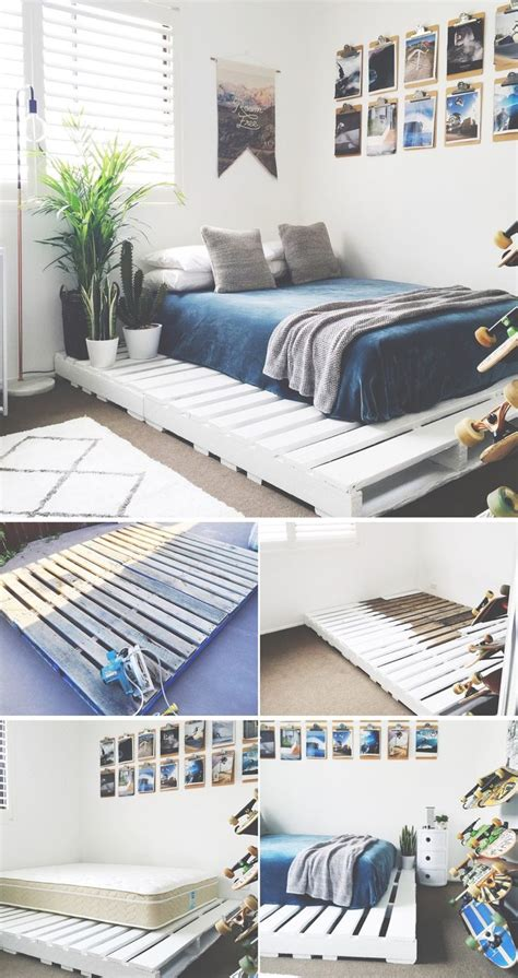 diy pallet bed frame best 25 diy bed frame ideas on bed ideas