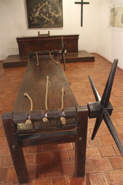 tortured on the rack torture in paradise the spanish inquisition comes to