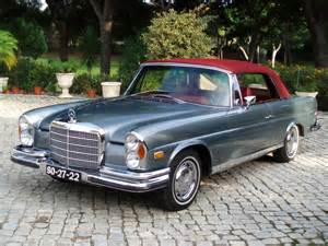 1970s Mercedes 1970 Mercedes 280 Se Cabriolet Images Pictures And