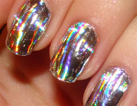 Foil Nail by 1000 Images About Iridescent Nail On Nail