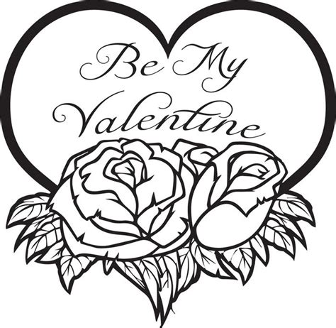 jesus is my valentine coloring sheet coloring pages