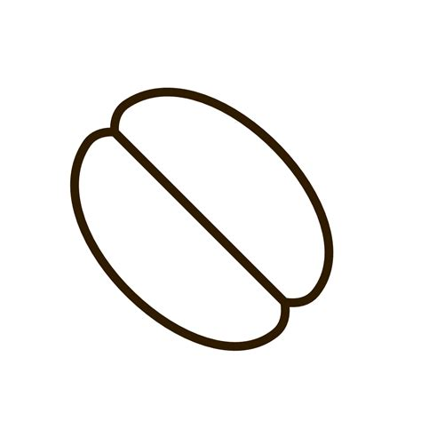 clipartist.net » Clip Art » food bean bean black white line art SVG