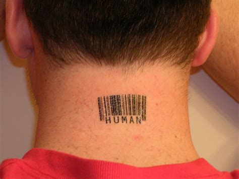 barcode tattoos  scott blake