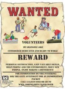 Volunteers Wanted Poster Template by Volunteer News