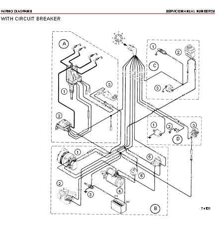 mercruiser wiring diagram source page 2