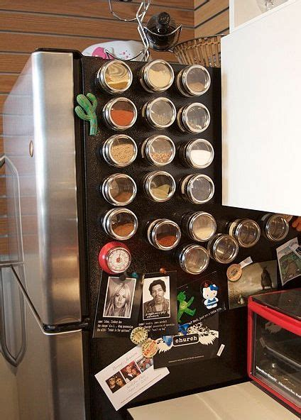 Magnetic Spice Rack Fridge 17 Best Ideas About Magnetic Spice Jars On Pinterest