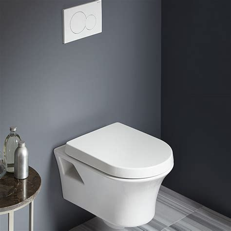 wall hung dual flush toilette 224 chasse 224 fixation murale standard