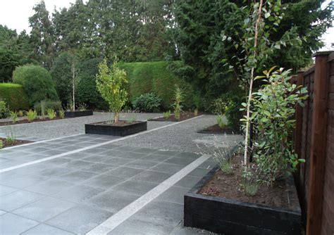 Out Door Patio Granite Patio Landscaped Garden Ashwood Services