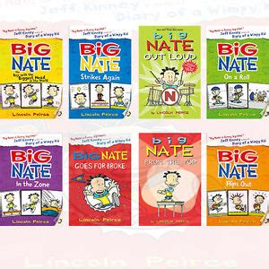 the literature book big 0241015464 big nate series collection 8 books set big nate strikes again by lincoln peirce ebay