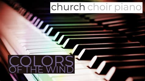 colors of the wind instrumental colors of the wind instrumental piano cover