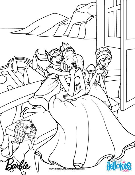 Princess And The Popstar Coloring Pages Meribella Trevi Are Tori S Sisters Barbie Coloring Page by Princess And The Popstar Coloring Pages
