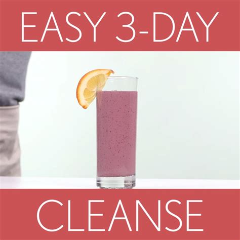 Simple 3 Day Detox Plan by How To Reset With A 3 Day Detox Cooking Light