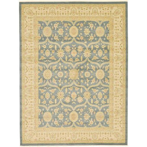 10 ft x 13 ft rug unique loom heritage blue 10 ft x 13 ft area rug 3122771