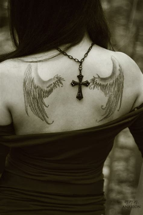 a list of beautiful angel wings tattoos pictures sheplanet