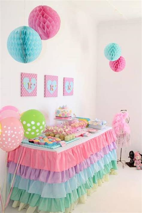 cute themes for birthday parties pastel cute as a button party planning ideas supplies idea