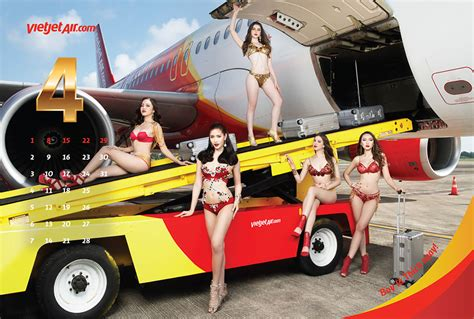 vietjet   provocative bikini girls  buck
