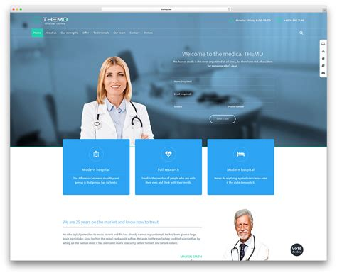theme enfold home page 20 best health and medical wordpress themes 2018 colorlib