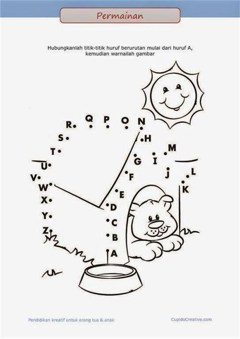printable untuk anak belajar membaca a z untuk anak permainan paud balita tk